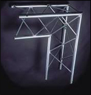 "TRIANGULAR TRUSS 1""9"" 2 WAY JUNCTION"