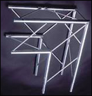 "BOX TRUSS 1""9"" 2 WAY JUNCTION"