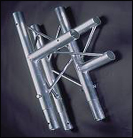 TRIANGULAR TRUSS 3 WAY JUNCTION