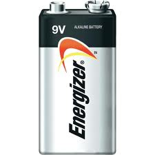 BATTERY ENERGIZER 9VOLTS