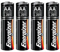 BATTERY ENERGIZER TYPE AA