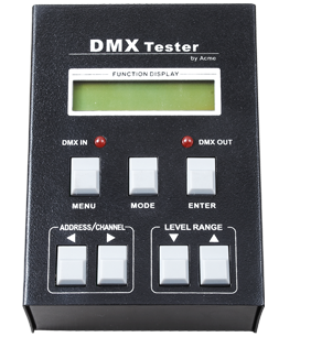 DMX TESTER