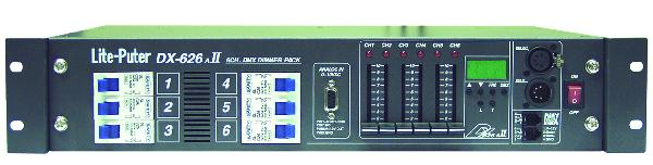 DX-626B US DMX DIMMER PACK**DISCONTINUED**