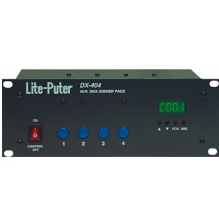 DX-404 DMX DIMMER PACK
