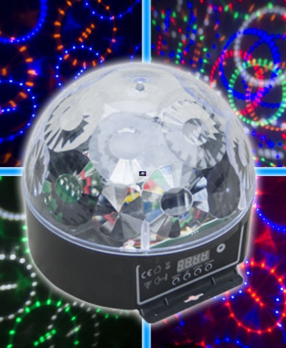 LED CRYSTAL BALL LIGHT***DISCOUNTINED***