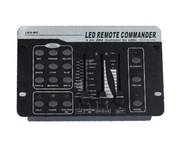 LED REMOTE COMMANDER